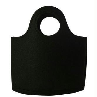 Sac feutrine noir 30 cm