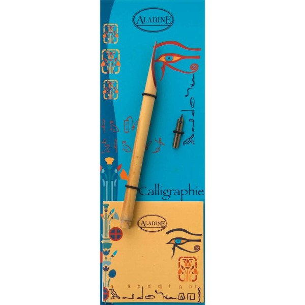 Calame et plume de calligraphie pour écriture Egyptienne - Photo n°1