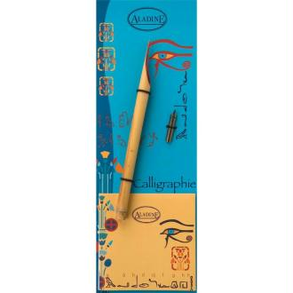 Calame et plume de calligraphie pour écriture Egyptienne