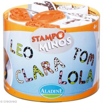 Kit 26 tampons enfant Stampo'minos Alphabets
