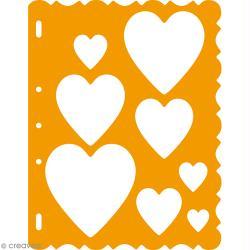 Gabarits de découpe Coeurs ShapeTemplate pour Shape Cutter