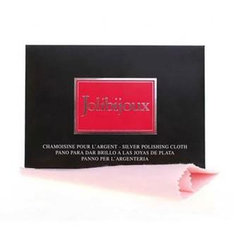 Outils et nettoyants chamoisine de nettoyage pour bijoux argent jolibijoux Rose