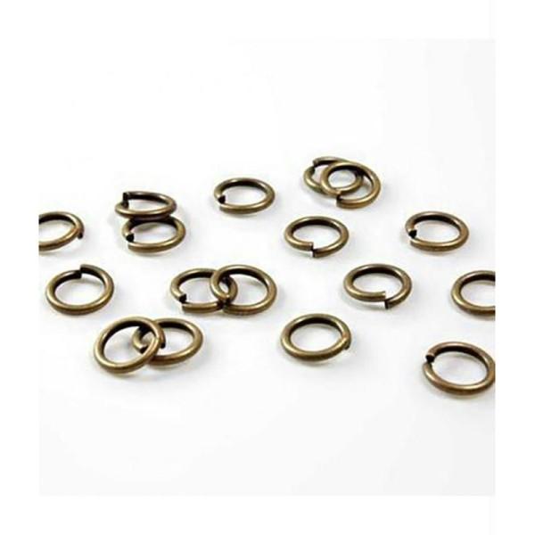 Accessoires création anneaux de jonction 10mm 100 pcs - Photo n°1