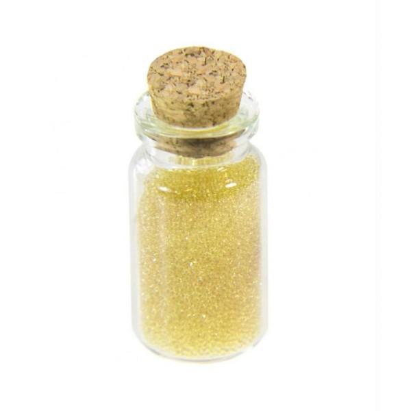Accessoires création microbilles caviar translucides en fiole - Photo n°1