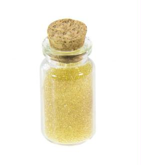 Accessoires création microbilles caviar translucides en fiole