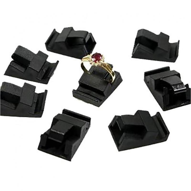 Porte bijoux supports bagues noirs pour cubes d 39 etiquette - Porte d entree tryba prix ...