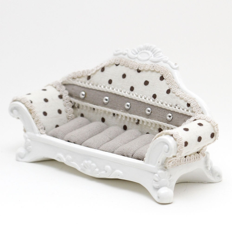 Porte bijoux bagues canap sofa pois pr sentoirs pour - Produit pour canape cuir ...