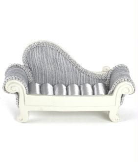Porte bijoux bagues canapé sofa rayures - Présentoirs pour bijoux