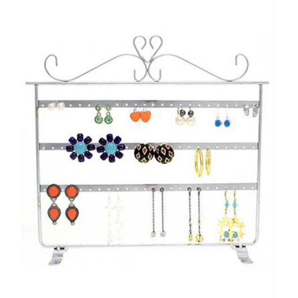 Porte bijoux cadre présentoir boucle d'oreille window (32 paires) - Photo n°2