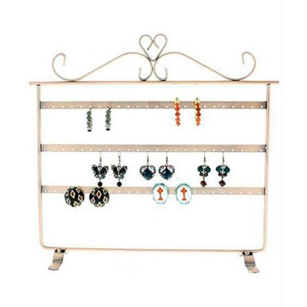 Porte bijoux cadre présentoir boucle d'oreille window (32 paires) - Photo n°3