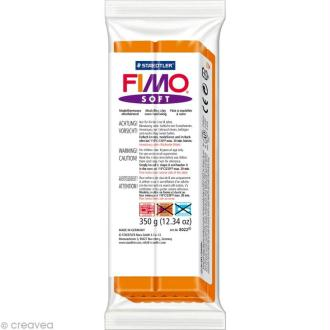 Fimo soft Orange 42 - 350 gr