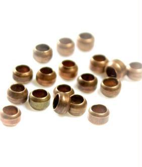 Accessoires création perles à écraser 3 mm 200 pièces