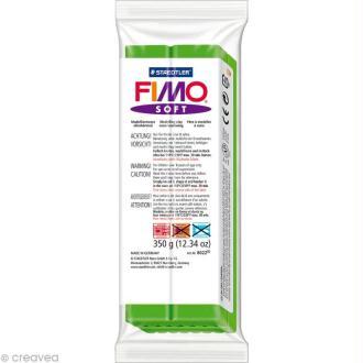 Pâte Fimo soft Vert Tropical 53 - 350 gr