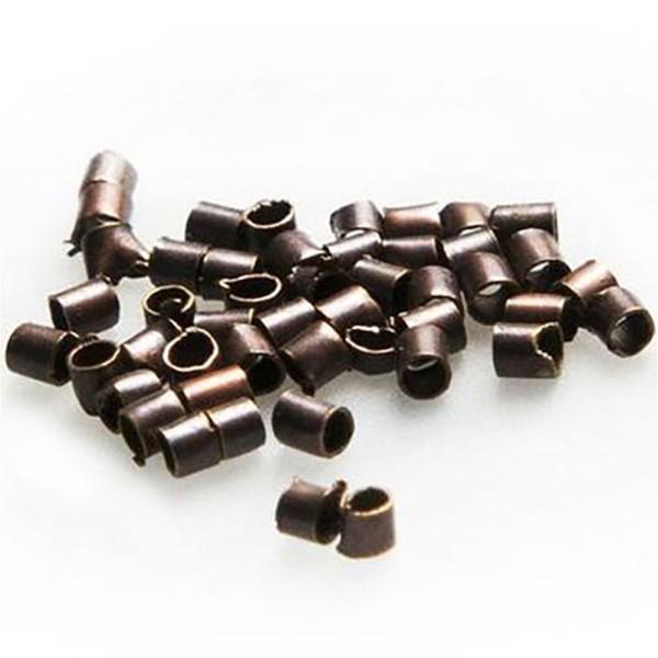 Accessoires création perles à écraser 1,5mm 200 pièces