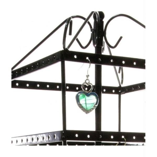Porte bijoux grand manège à boucles d'oreilles generoso (144 paires) Cuivre - Photo n°3