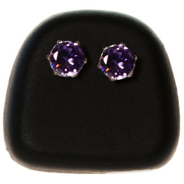Porte bijoux présentoir pour boucles d'oreilles en simili cuir (1 paire) Noir - Photo n°1