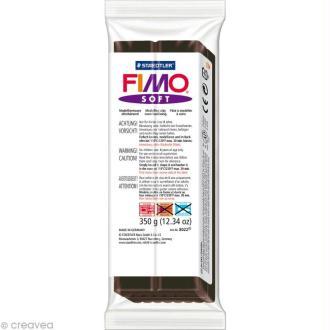 Pâte Fimo soft Noir 9 - 350 gr