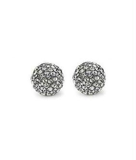 Perles shamballa rondes 64 strass en cristal 10mm (5 pièces)