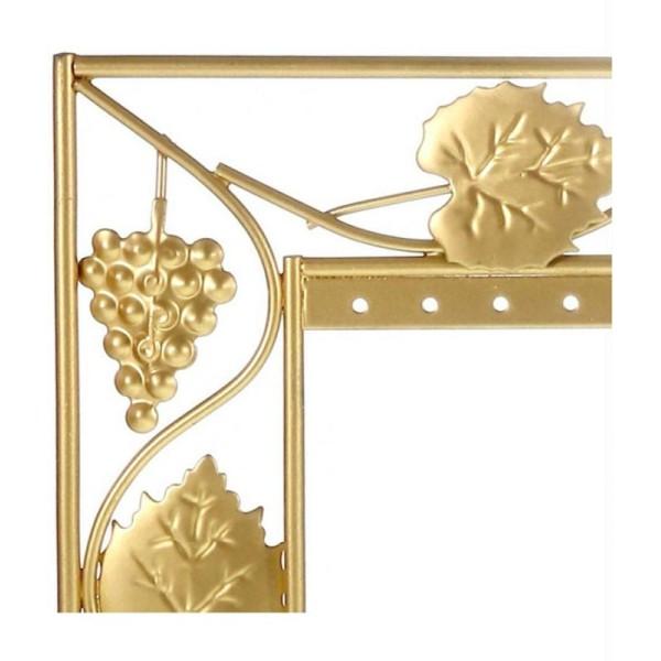 Cuivre 28 Paires Porte Bijoux Cadre Porte Boucle doreille vignes