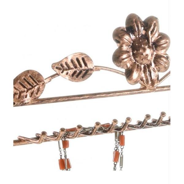Porte bijoux porte bijoux hilda avec panier et jonc pour bijoux - Photo n°3