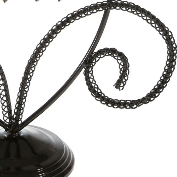 Porte bijoux porte boucle d'oreille amande Noir - Photo n°3