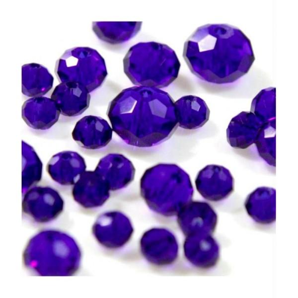 50 Perles de Bohème en verre craquelée 8/<9 mm Jaune /& rouge