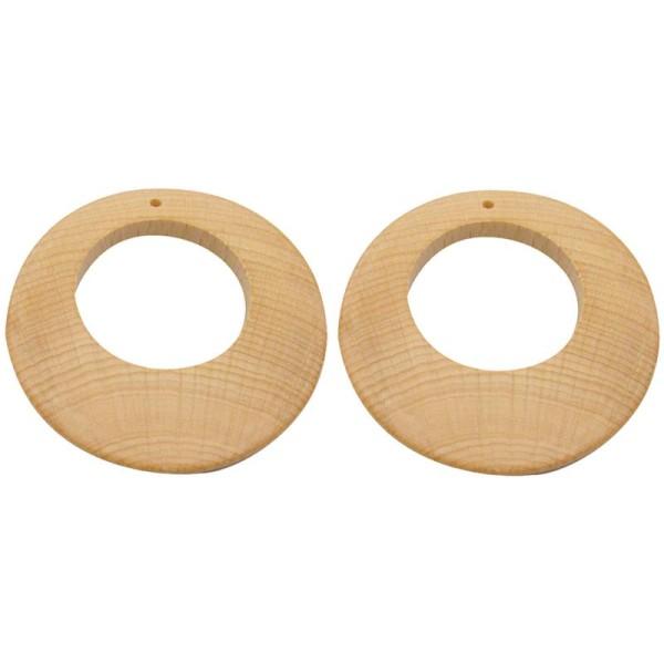 Boucle d'oreille créole x 2 - Photo n°1