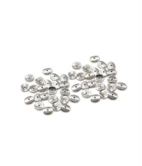 Accessoires création perles intercalaires chips citron en alliage (5 pièces)