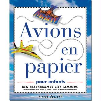 Livre Avions en papier pour enfants