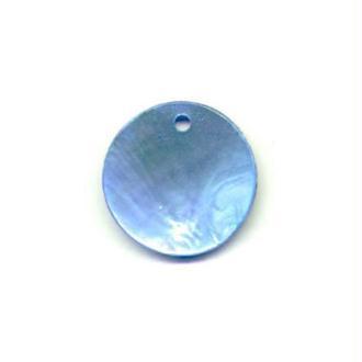 10x Sequins Nacre 10mm BLEU CIEL