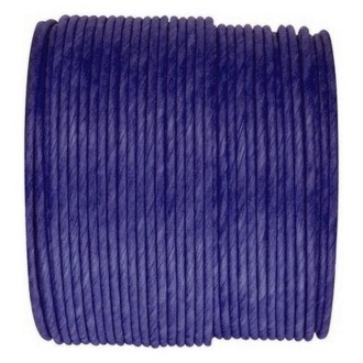 Paper Cord armé bleu marine rouleau 20mètres