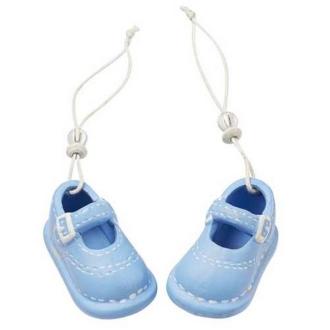 Paire de chaussons bébé garçon céramique