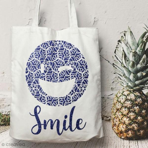 Pochoir multiusages - Emotion Smile ajouré - A4 - Photo n°2