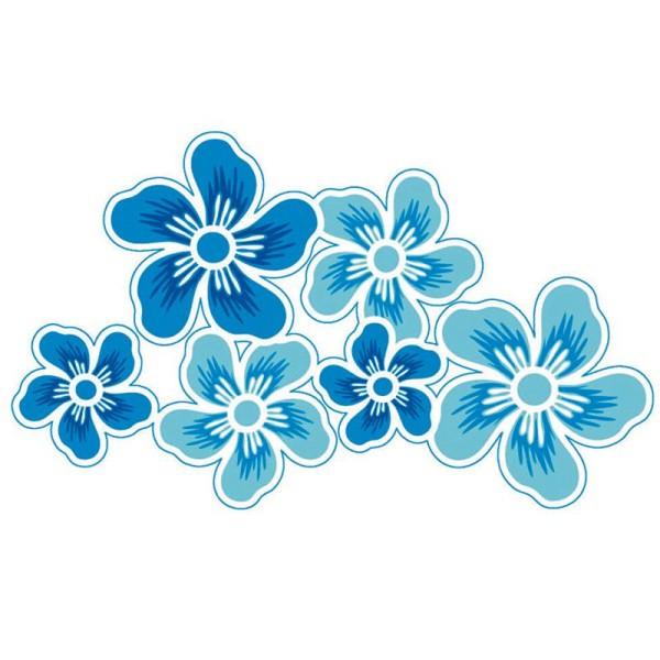 Transfert Thermocollant Fleurs 14,5 x 9,5 cm - Photo n°1