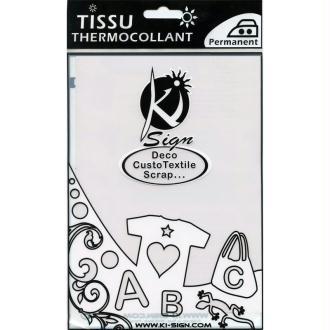 Tissu Thermocollant Phosphorescent 15 x 20 cm
