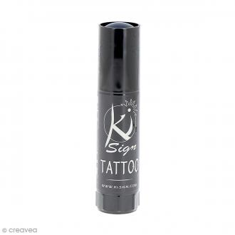Encre cosmétique pour maquillage et tatouage temporaire Bleu marine mat