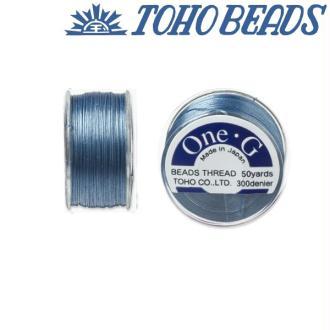Bobine 46m fil One-G  (Toho) 0.25mm BLUE