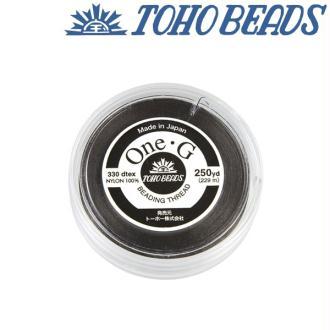 Bobine 250m fil One-G  (Toho) 0.25mm BLACK