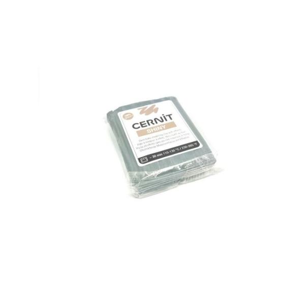 Pâte Cernit Shiny 56gr Couleur Vert Canard - Photo n°1