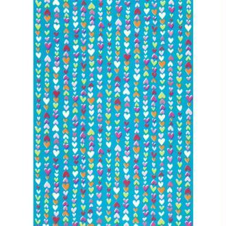 Décopatch Bleu Violet 410 - 1 feuille