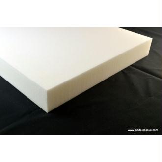 Plaque mousse polyuréthane 100cm x 50cm x 7cm