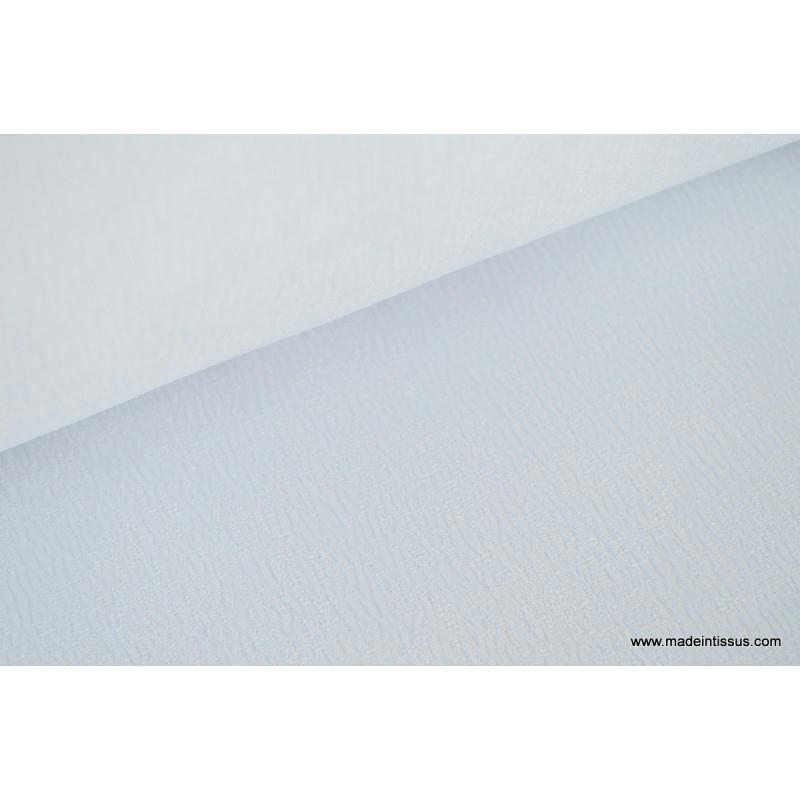 tissu grande largeur antitaches blanc pour nappes x 1m nappes creavea. Black Bedroom Furniture Sets. Home Design Ideas