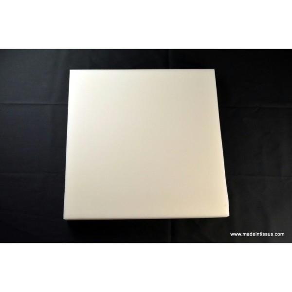 plaque de mousse polyur thane 7cm 50cmx50cm rembourrage. Black Bedroom Furniture Sets. Home Design Ideas