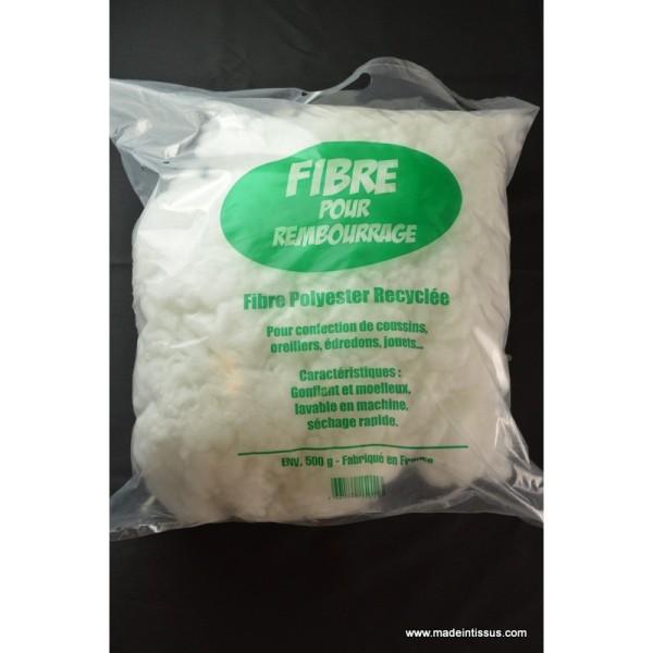 Sac de Rembourrage fibre de polyester recyclés 500g - Photo n°1