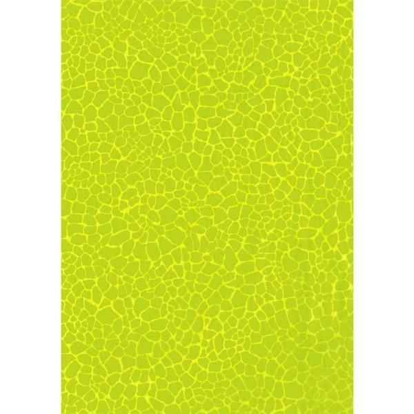 Décopatch Jaune Vert 531 - 1 feuille - Photo n°1