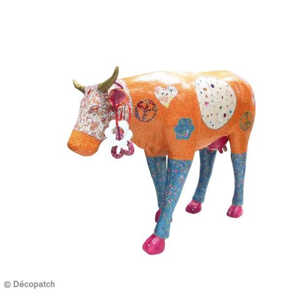 Vache géante en papier mâché 100 cm - Photo n°2