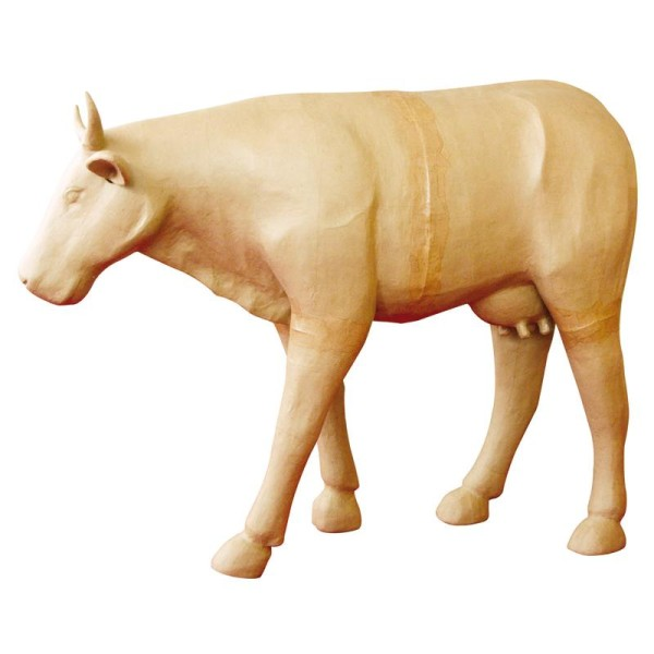 Vache géante en papier mâché 100 cm - Photo n°1