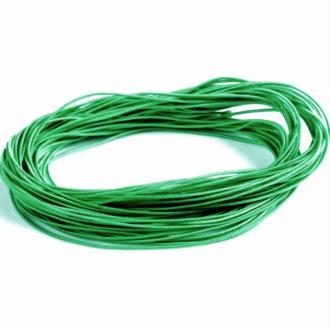 Nylon élastique verte 1 milimètre par 7 mètres - cordon vert