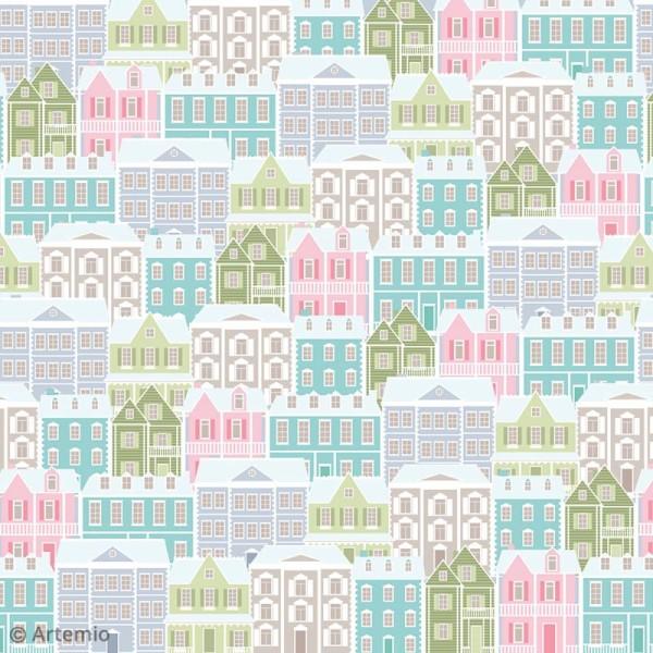 Papier Scrapbooking Artemio - Noël Home sweet Home - 30,5 x 30,5 cm - 40 feuilles - Photo n°3