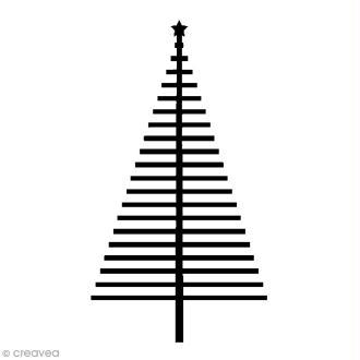Tampon Bois Artemio - Sapin  - 3,7 x 6,6 cm